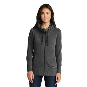 New Era® Ladies' Tri Blend Fleece Full Zip Hoodie