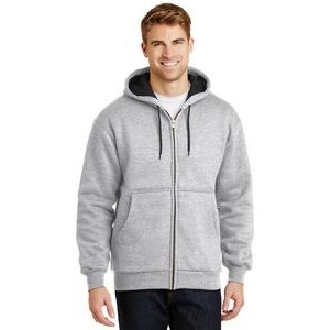Cornerstone® Heavyweight Full Zip Hooded Sweatshirt w/ Thermal Lining