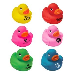 "2"" Colorful Rubber Ducks"