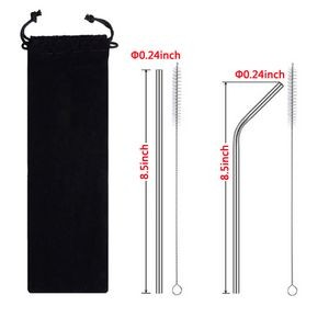 Re-usable Stainless Steel Drinking Straw