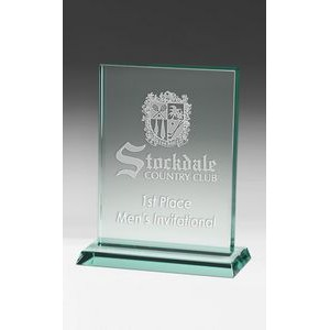 Small Hanover Jade Crystal Award