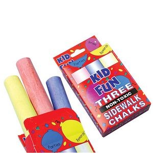 Sidewalk Chalk - 3 Piece Box