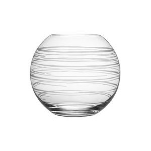 Orrefors Graphic Large Round Vase