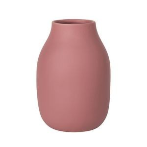 "Blomus Colora Withered Rose Porcelain Vase (8"" x 6"")"