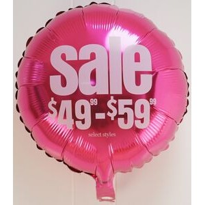 "18"" Foil Balloons (Rounds, Stars & Hearts)"