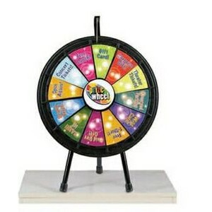 Black Mini Prize Wheel Game