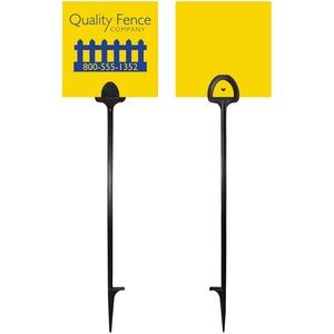 "6"" x 6"" Value Marking Signs - Two Color Front & Solid Color Back"