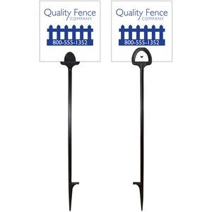 "6"" x 6"" Value Marking Signs - One Color, Front & Back"