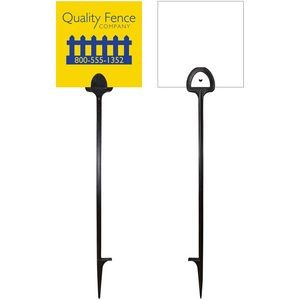 "6"" x 6"" Value Marking Signs - Two Color, Front Only"